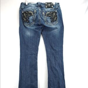 Miss me distressed bootcut jeans size 29